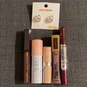 Ultimate Lip and Cheek Bundle + Free Earrings